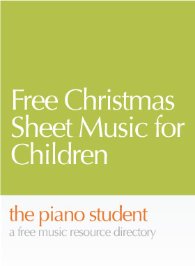 free christmas sheet music for children - Free Christmas Piano Sheet Music