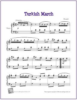 turkish-march-piano-solo