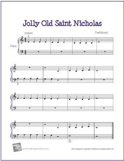 jolly-old-saint-nicholas-piano-solo