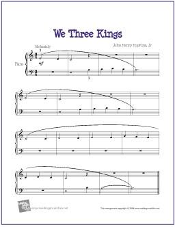 we-three-kings-piano-solo