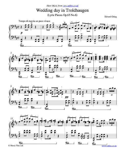 Free Sheet Music – The Piano Student