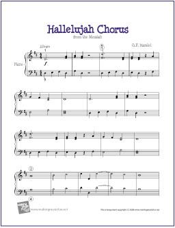 hallelujah-chorus-easy-piano-solo