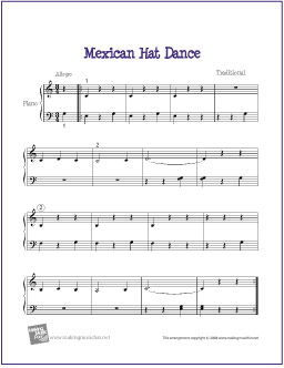 mexican-hat-dance-piano-solo