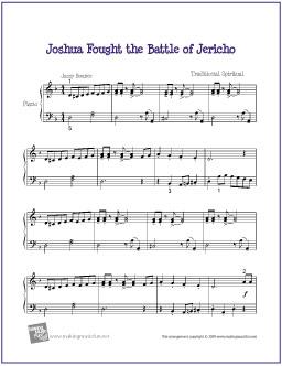 joshua-fought-the-battle-piano