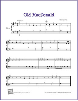 old-macdonald-piano-solo