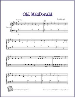 old-macdonald-piano-solo