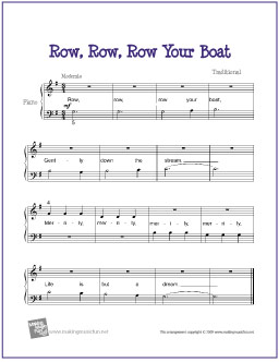 row_row_row_your_boat_piano