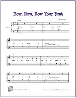row_row_row_your_boat_piano