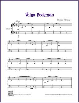 volga-boatman-piano-solo