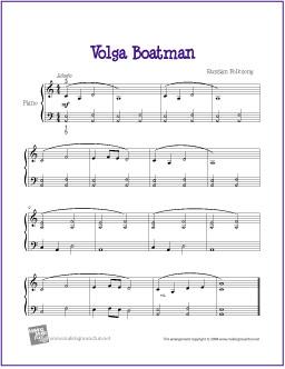 volga-boatman-piano-solo