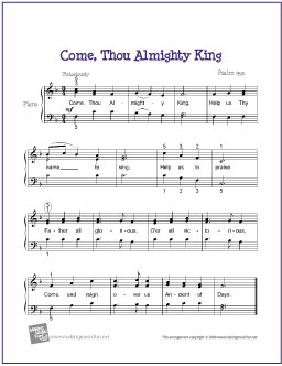 come-thou-almighty-king-piano