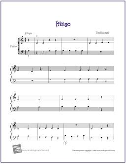 bingo-piano-solo