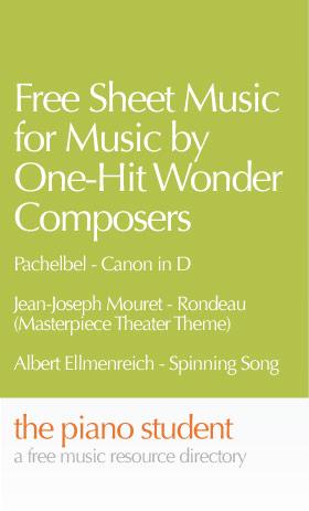 one-hit-wonders-sheet-music