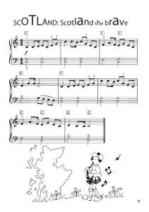 Scotland the brave sheet music free download
