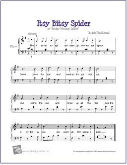 itsy-bitsy-spider-piano