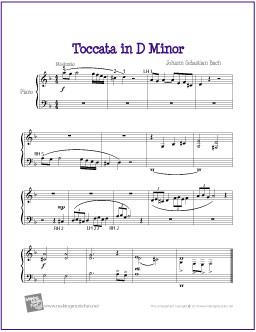toccata-easy-piano