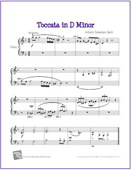 toccata-easy-piano