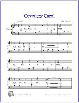 coventry-carol-piano