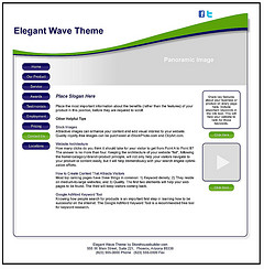 elegant-wave-theme
