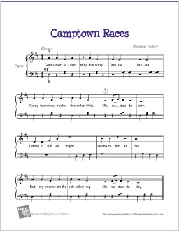 camptown-races-piano