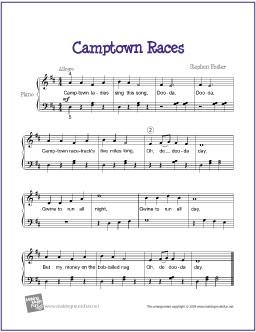 camptown-races-piano
