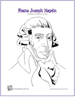 haydn-coloring-page