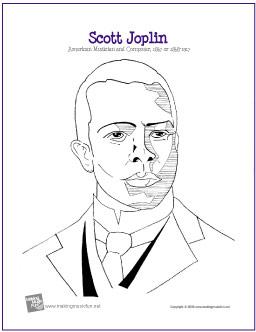 joplin-coloring-page