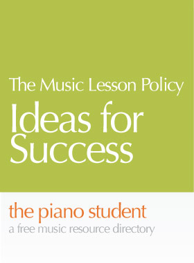 music-lesson-policy
