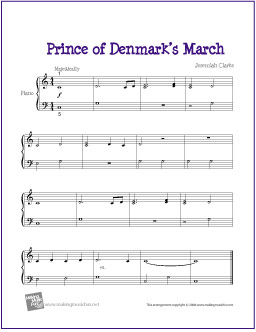 prince-of-denmarks-march