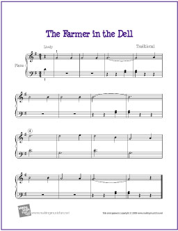 the-farmer-in-the-dell-piano-solo