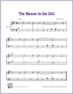 the-farmer-in-the-dell-piano-solo