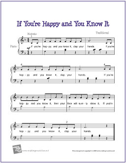 if_youre_happy_piano