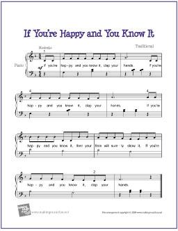if_youre_happy_piano