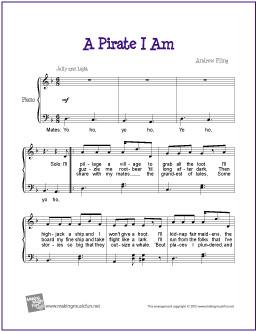 a-pirate-i-am-easy-piano