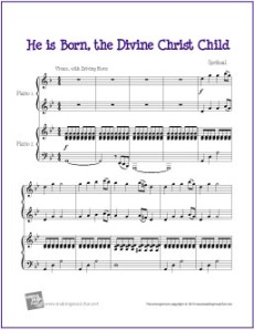 he-is-born-the-divine-christ-child-piano-duet