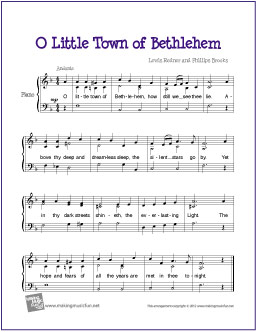 o-little-town-of-bethlehem-piano