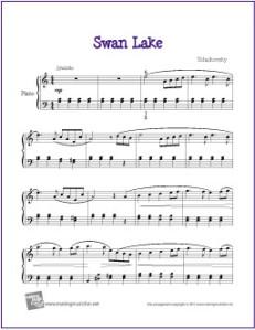 swan-lake-intermediate-piano