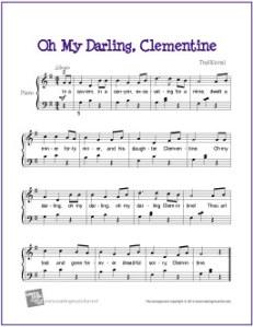 Traditional - My Darling Clementine Lyrics | MetroLyrics