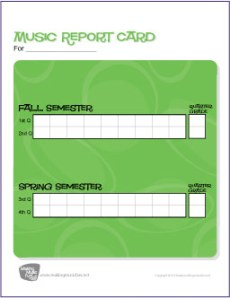 music-report-card