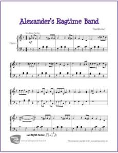 alexanders-ragtime-band-piano