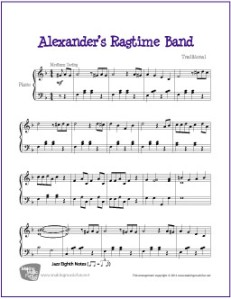 alexanders-ragtime-band-piano