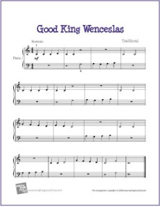 good-king-wenceslas-piano-solo
