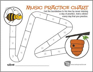 bumblebee-and-hive-practice-chart